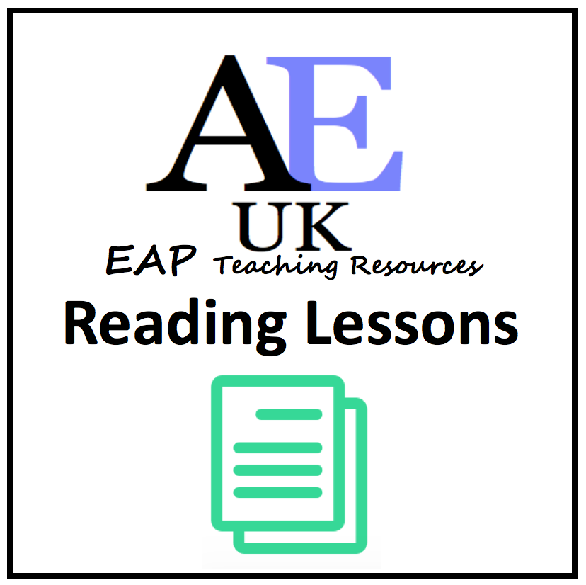 Academic English reading lessons