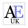 a small academic english uk logo