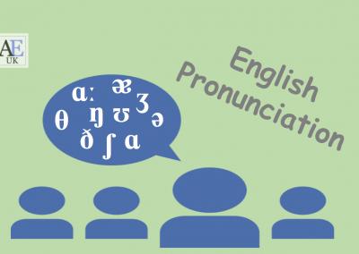 Pronunciation – the basics