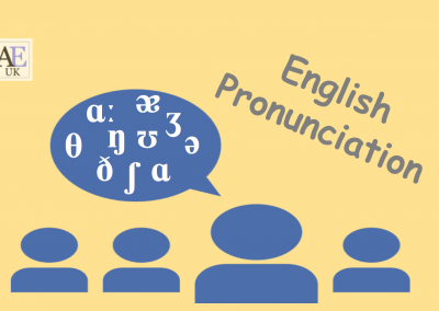 Pronunciation – Chinese & Arabic Speakers