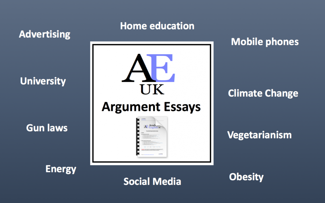 Two-sided Argument Essays