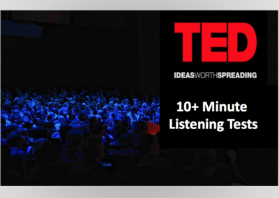 Academic Listening Tests