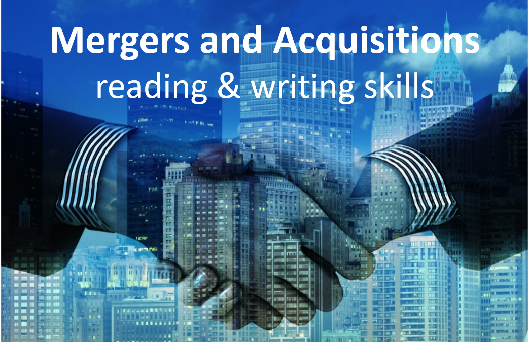 Mergers & Acquisitions: Reading and Argument Essay Writing