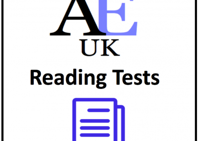 Academic Reading Tests