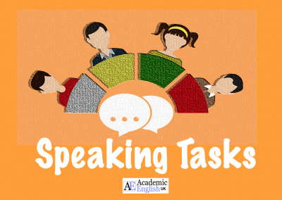 Speaking Tasks