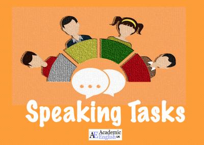 Speaking Tasks