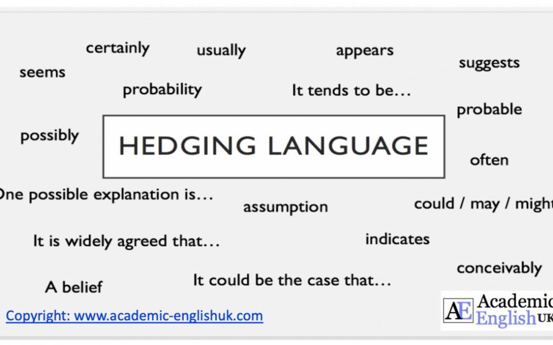 Hedging Cautious Language