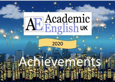 2020 Achievements