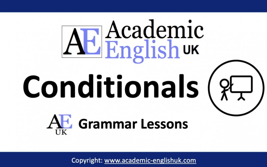 Academic Conditionals