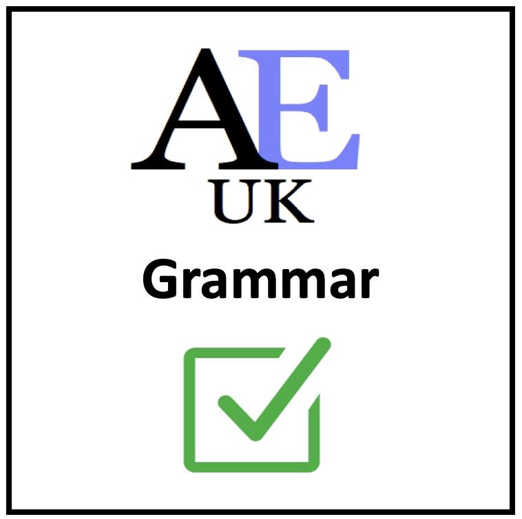 academic Grammar by Academic English UK