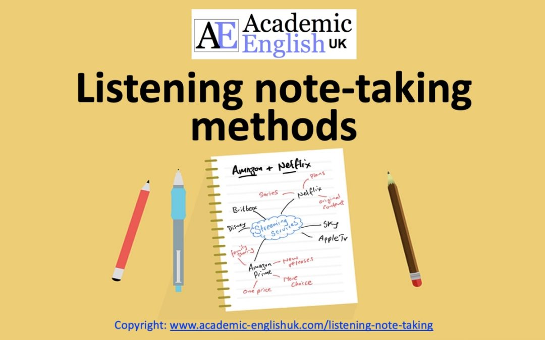 Listening Note-Taking