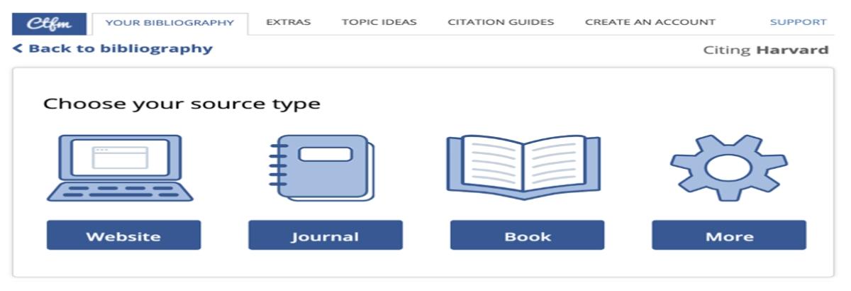 citethisforme source type