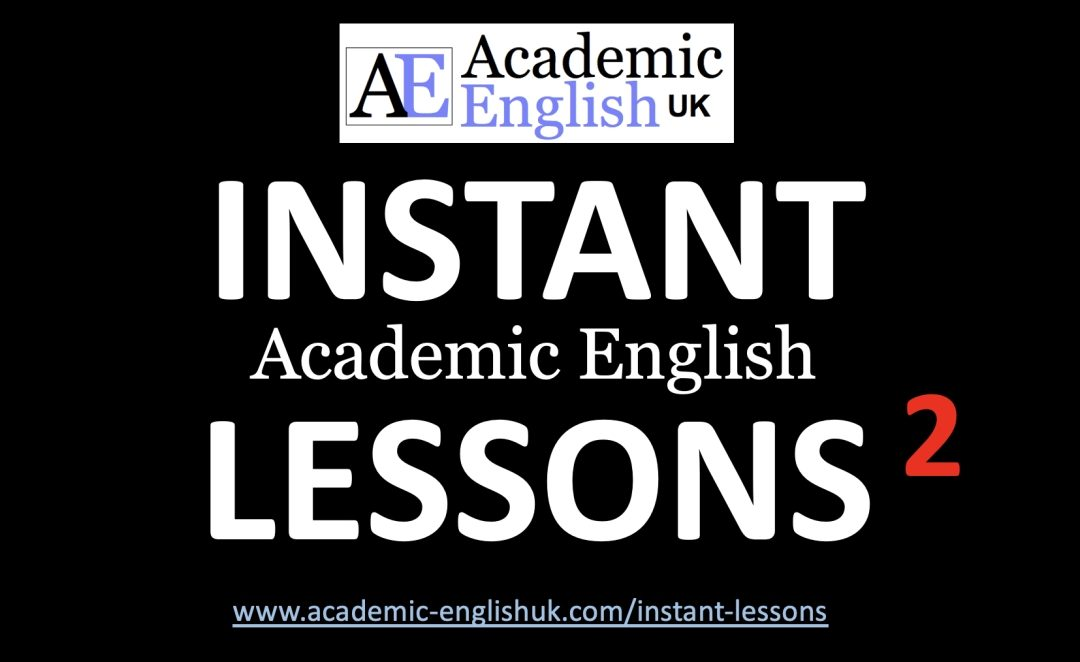 Instant lessons 2