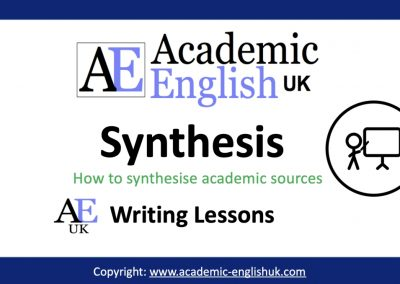 Academic Synthesis